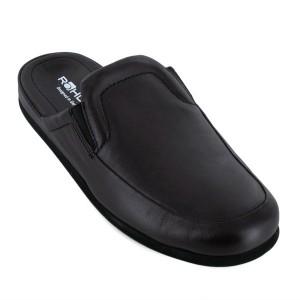 a23cb3395d8f1 Chaussons-pantoufles homme   Chaussons cuir, chaussons cuir souple ...