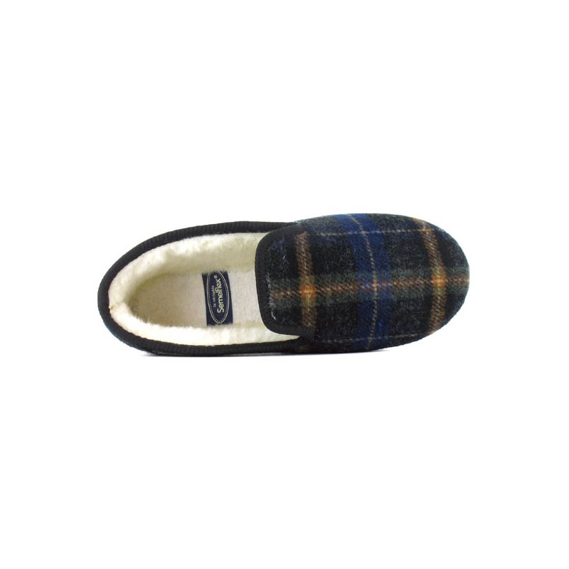 marques reconnues offre dessin de mode Charentaises pour homme Calorichard | Chaussures Pantoufles